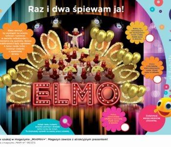 Świat Elmo zabawy do druku nauka liczenia