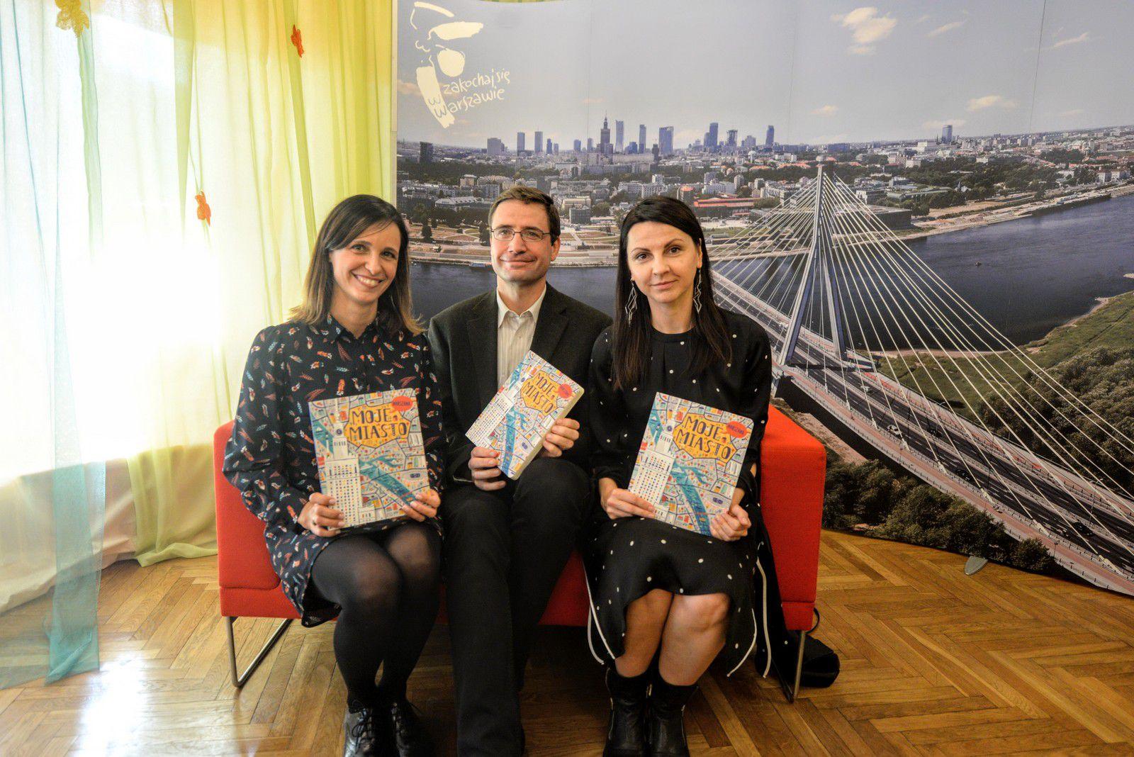 książka dla dzieci opowiadająca o Warszawie