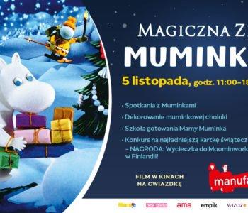 Muminki wprowadzą w świąteczną atmosferę!