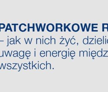 Patchworkowe rodziny. Premiera książki Wojciecha Eichelbergera i Aliny Gutek