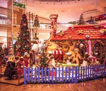 Manufaktura w świątecznej szacie