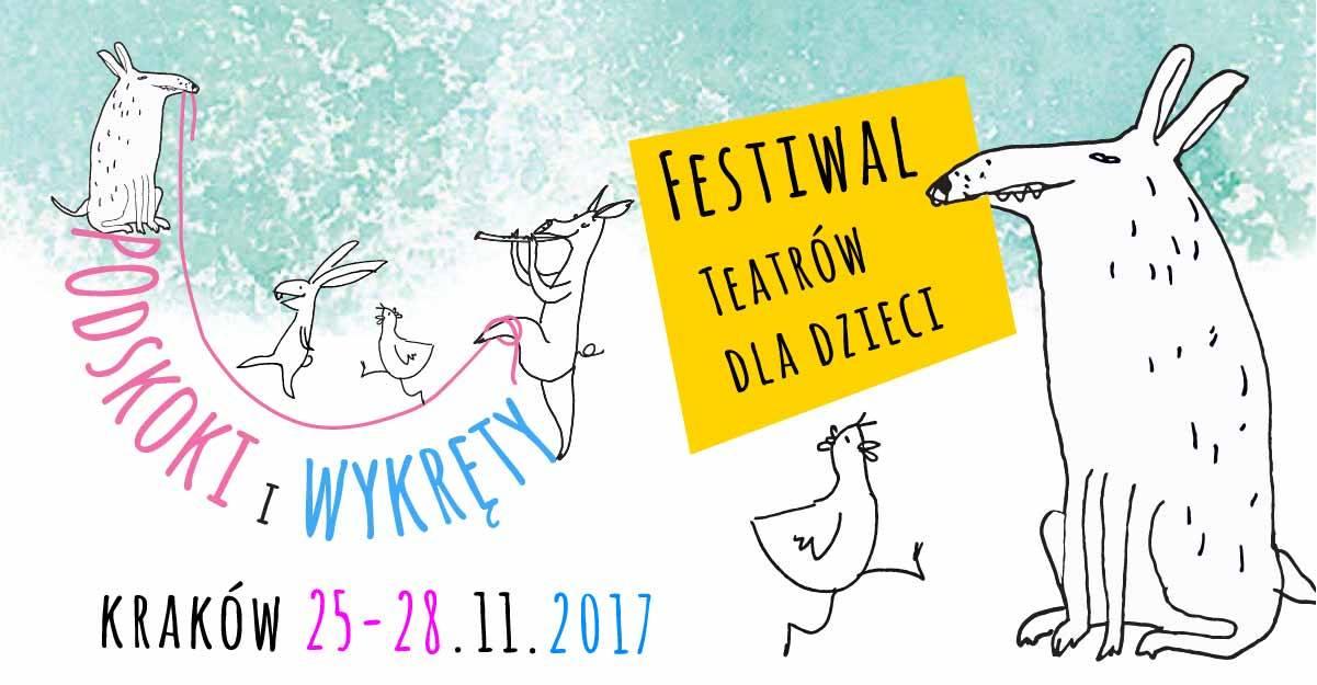 Podskoki i wykręty   Festiwal Teatrów dla Dzieci