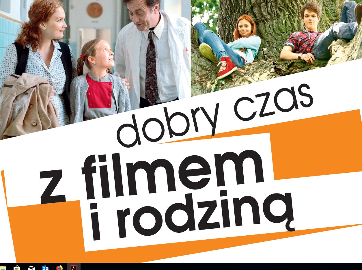 DOBRY CZAS z filmem i rodziną