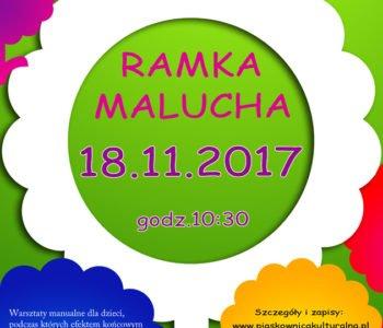 Ramka Malucha w Piaskownicy Kulturalnej, Sosnowiec