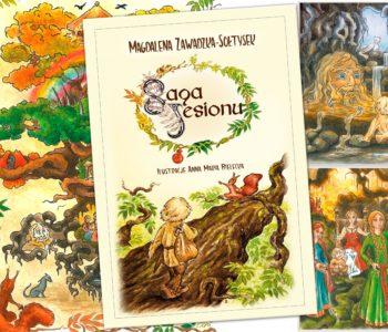 Saga jesionu - powieść dla dzieci i młodzieży