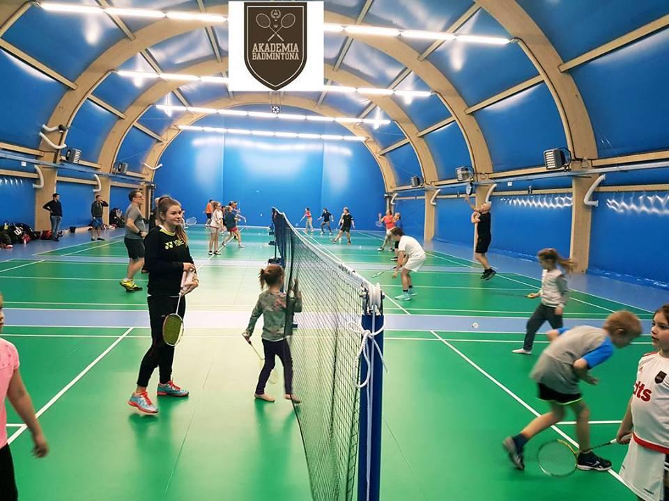 Rodzinne zajęcia badmintona