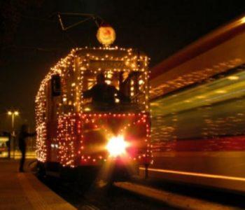Świąteczny tramwaj w Gdańsku - charytatywne wsparcie na Święta