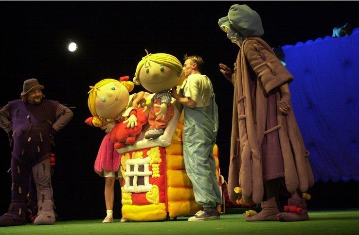 Jaś i Małgosia w Teatrze Lalka