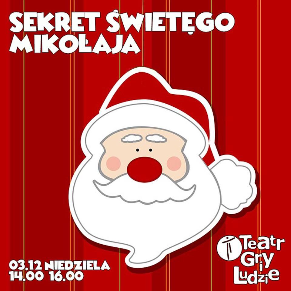 Sekret Świętego Mikołaja - Podwieczorki Teatralne