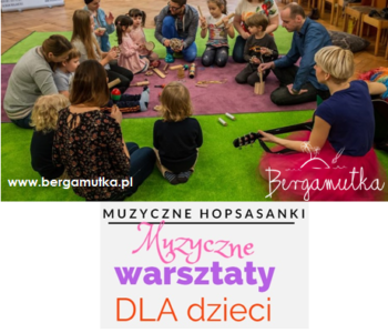 Śpiewajki, turlajki, mazajki – zajęcia muzyczno-sensoryczne w Baby English Center