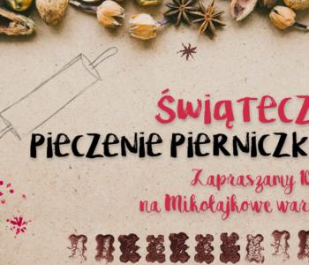 Świąteczne pieczenie pierniczków w Księgarni Bona