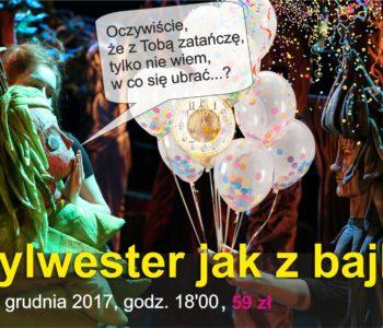 Sylwestrowy Leśny Bal – wieczór sylwestrowy dla dzieci w Teatrze Lalek Arlekin