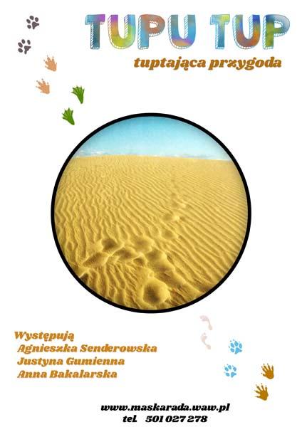 Tupu tup - sensoryczny spektakl w Teatrze Maskarada