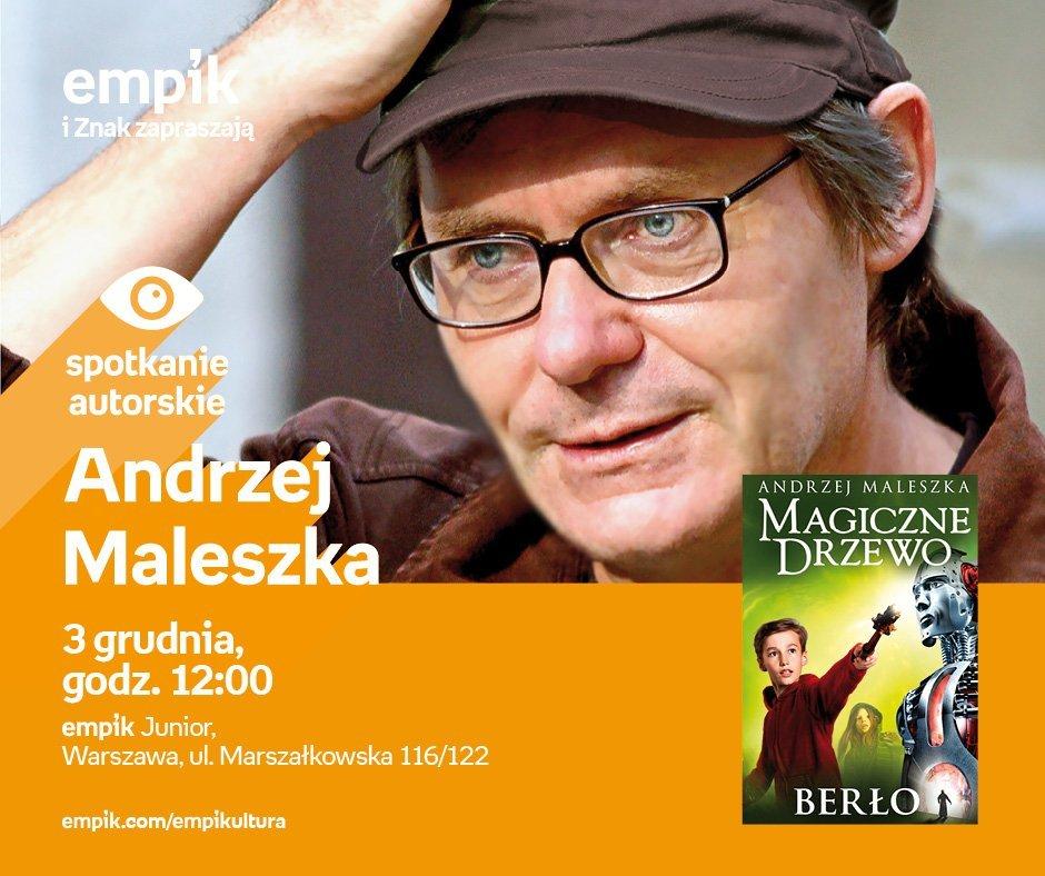 Magiczne Drzewo – spotkanie autorskie z Andrzejem Maleszką