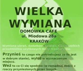 Wielka krakowska wymiana SWAP Ciuchowisko