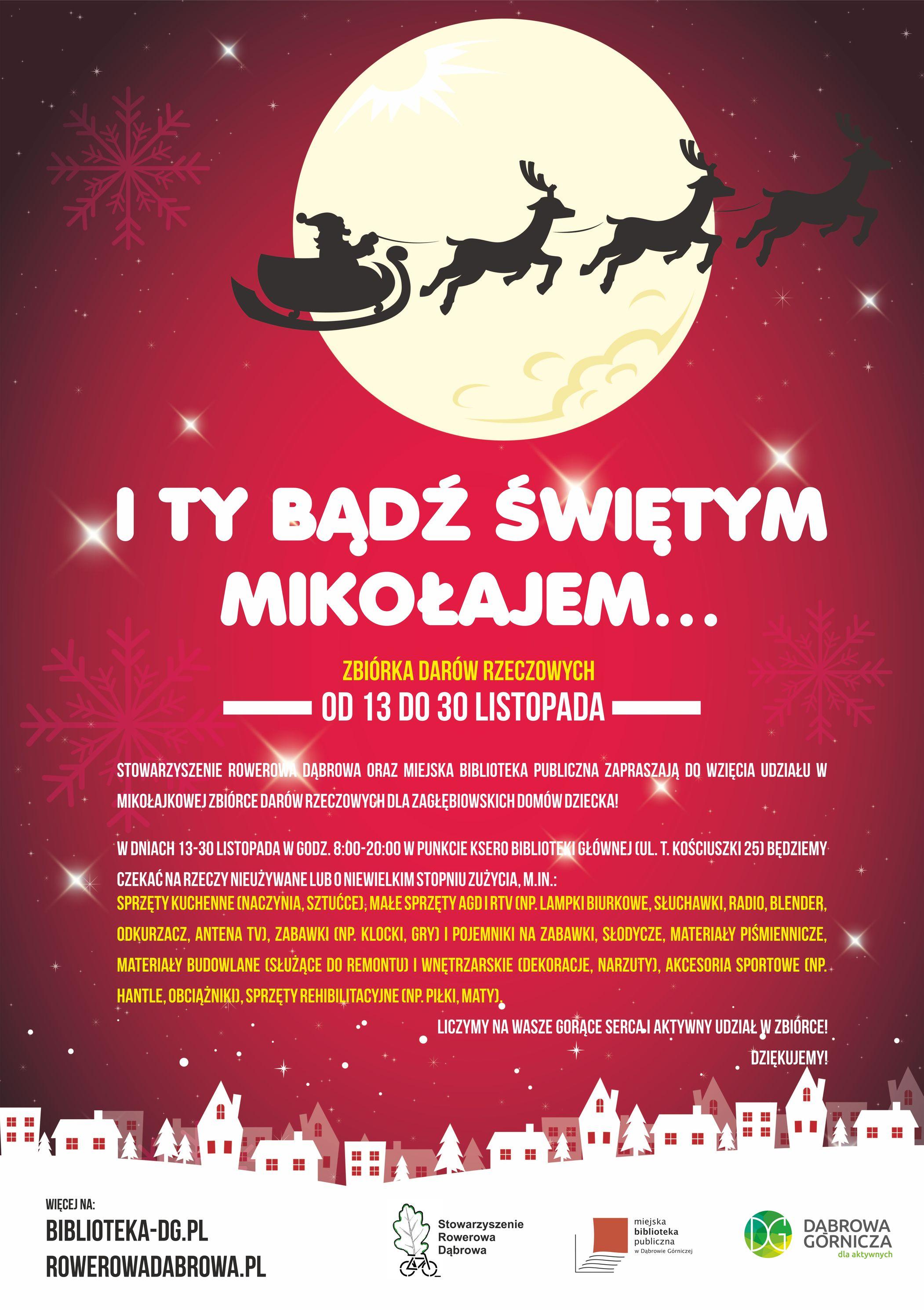 I Ty bądź Świętym Mikołajem