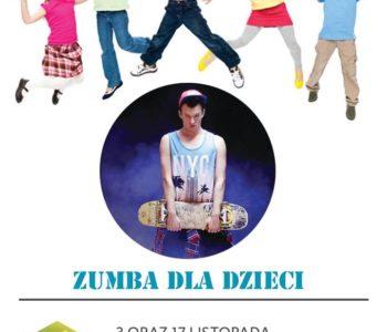 Zumba dla dzieci w ODK Pod Lipami