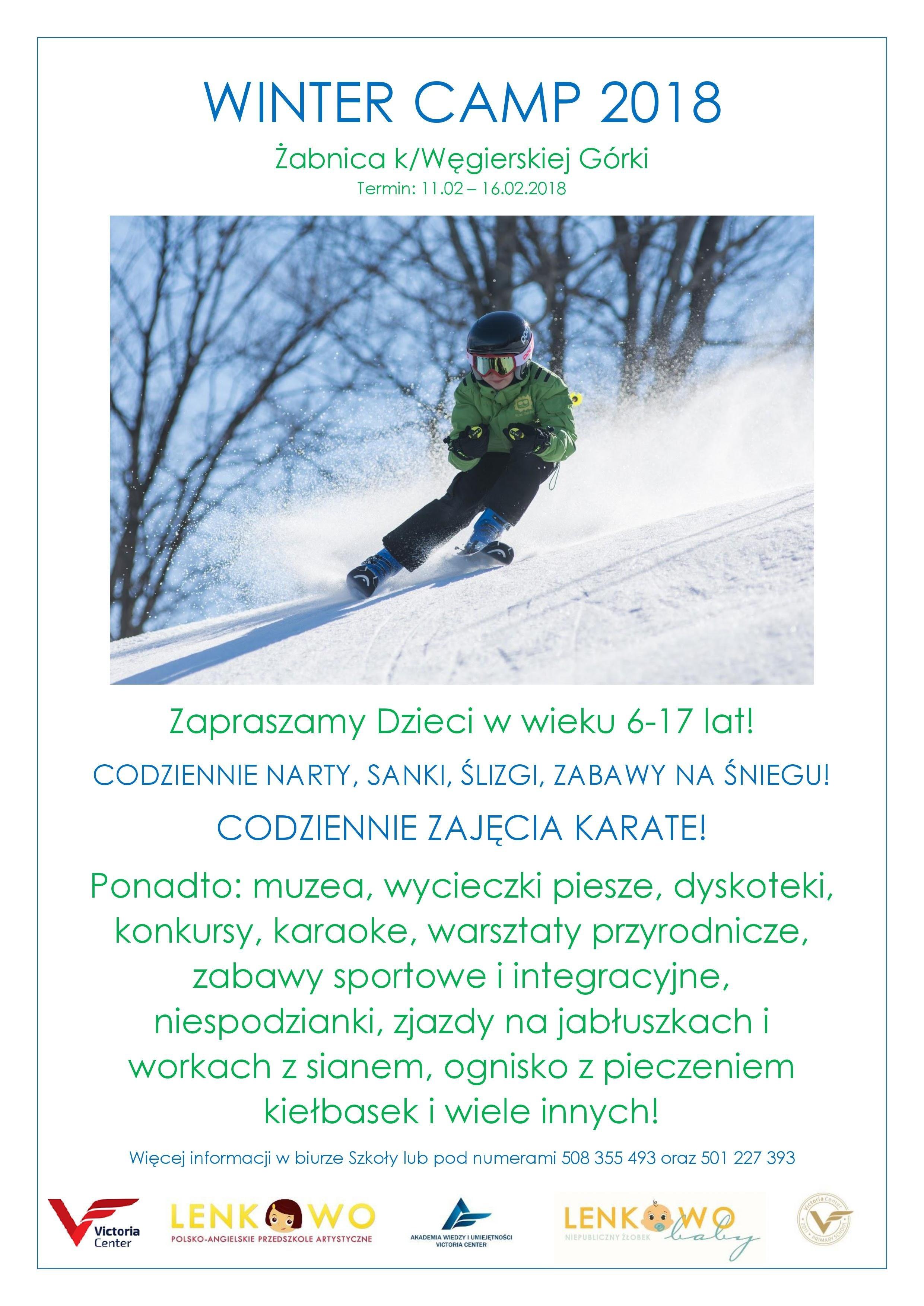 Zimowisko w Żabnicy z Lenkowem. Zapisy