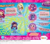 Małe Czarodziejki zabawy do druku dla dzieci labirynt