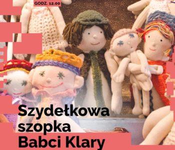 Szydełkowa szopka Babci Klary w DK Kadr
