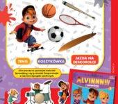 Alvinnn i WIewiórki zabawa do druku poznajemy dyscypliny sportu