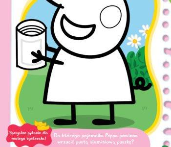 Świnka Peppa segregacja śmieci zabawa dla dzieci