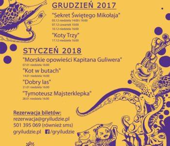 Podwieczorki Teatralne - Teatr Gry i Ludzie z Katowic