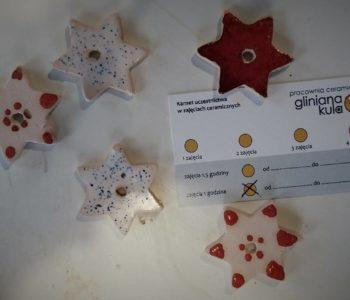 Karnet na zajęcia z ceramiki dla dzieci pod choinkę