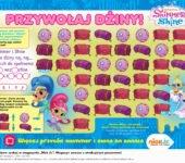 Shimmer i Shine zabawa do druku dla dzieci