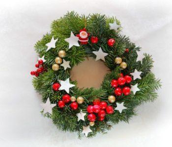 Florystyka: Robimy stroik świąteczny  w Domu Kultury Zacisze