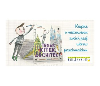 Ignaś Kitek Kinderkulka książka dla dzieci