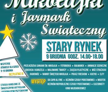 Jarmark Świąteczny i Mikołajki na Starym Rynku w Pucku