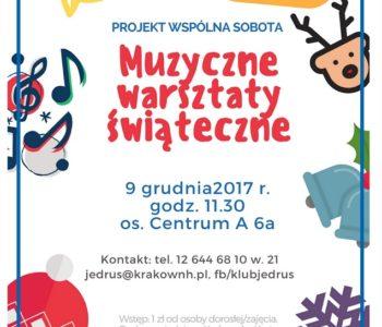 Wydarzenia w Klubach Ośrodka Kultury Kraków-Nowa Huta