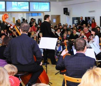 Koncert rodzinny Święta tuż, tuż – Orkiestra Warsaw Camerata