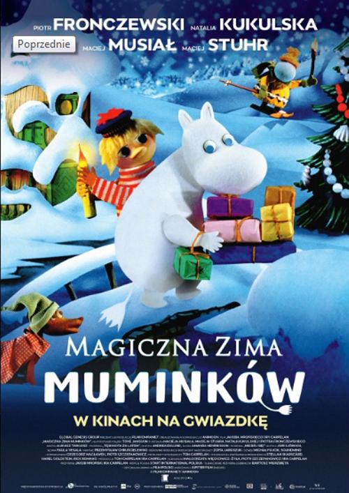 Multikino zaprasza na Magiczną zimę Muminków