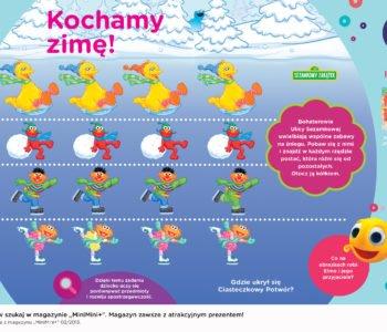 Ulica Sezamkowa zabawy dla dzieci do druku