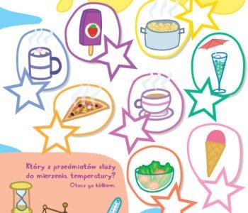 Kolorowe posiłki Świnki Peppy zabawa do druku dla dzieci