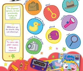 Świnka Peppa dopasuj obrazki zabawa dla dzieci do druku