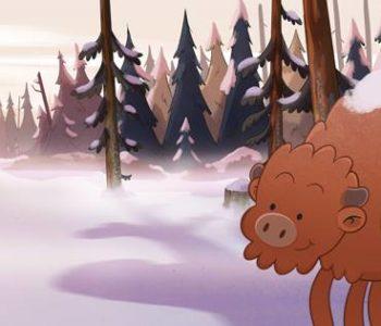 Podwieczorek z Animacją: Żubr Pompik w Kinie Bodo