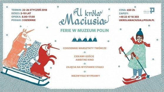 Półkolonie zimowe – Szkoła superbohaterów w Muzeum Polin