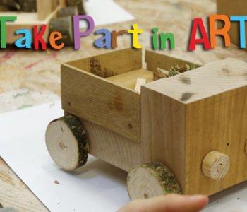 Take Part in Art – warsztaty Stolarka dla Dzikich Dzieci