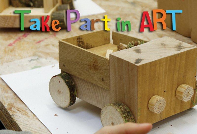 Take Part in Art - warsztaty Stolarka dla Dzikich Dzieci