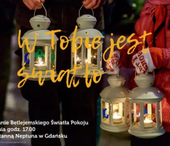 Światło Pokoju w Gdańsku 2017