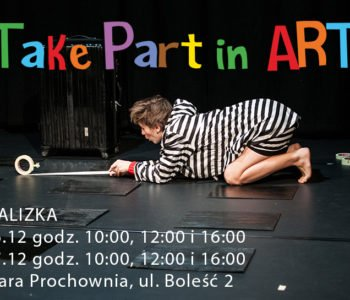 Take Part in Art – spektakl Walizka