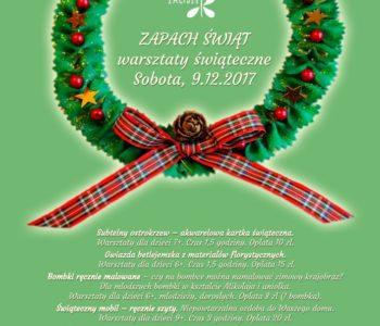 Warsztaty świąteczne w DK Zacisze: Zapach Świąt