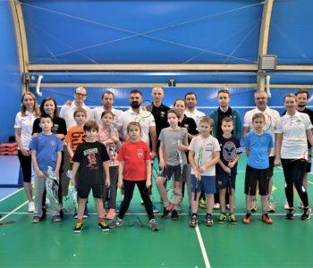 Rodzinne zajęcia z badmintona