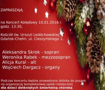 Charytatywny koncert kolęd Pomorze Dzieciom