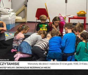 Czytamisie – warsztaty dla dzieci i rodziców