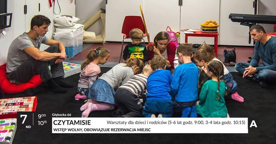 Czytamisie - warsztaty dla dzieci i rodziców