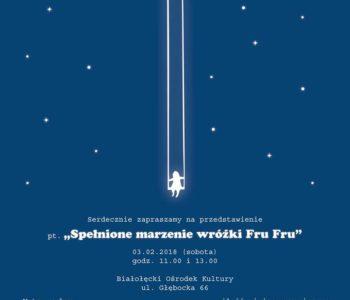 Teatr 356: Spełnione marzenie wróżki Fru-Fru